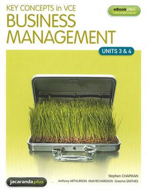 Cover of Key Concepts in VCE Business Management Units 3 and 4