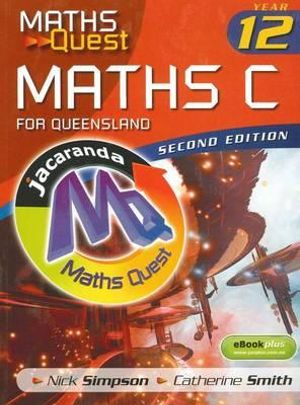 Cover of Maths C for Queensland
