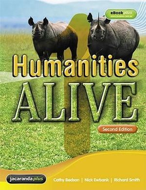Cover of Humanitites Alive One