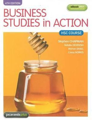 Cover of Business Studies in Action HSC Course 4E & eBookPLUS