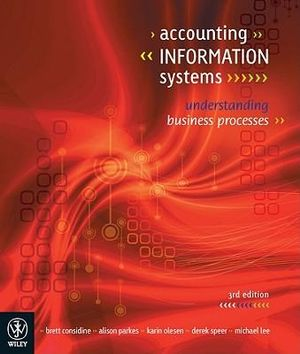 Cover of Accounting Information Systems Understanding Business Processes 3E