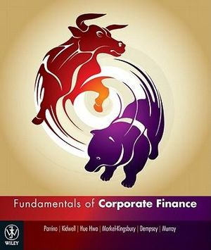Cover of Fundamentals of Corporate Finance Australasian Edition