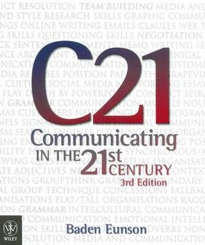 Cover of Communicating in the 21st Century
