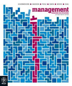 Cover of Management Foundations and Applications