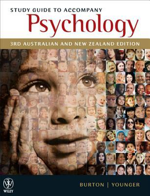 Cover of Study Guide to Accompany Psychology, 3rd Australian & New Zealand Edition