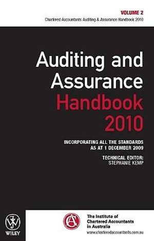 Cover of Auditing and Assurance Handbook 2010