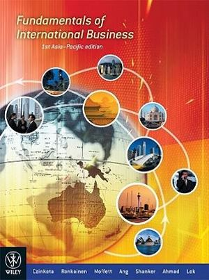 Cover of Fundamentals of International Business 1st Asia-Pacific Edition + Global Financial Crisis Supplement