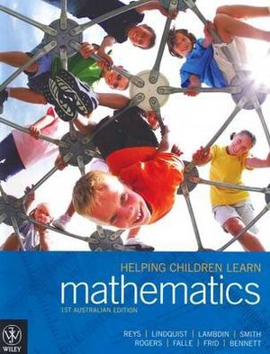 Cover of Helping Children Learn Mathematics (Au) 1E