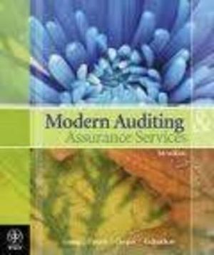 Cover of Modern Auditing and Assurance Services 5E