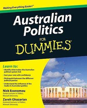 Cover of Australian Politics For Dummies