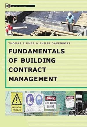 Cover of Fundamentals of Building Contract Management