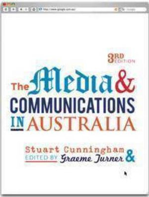 Cover of The Media and Communications in Australia
