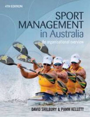 Cover of Sport Management in Australia An organisational overview