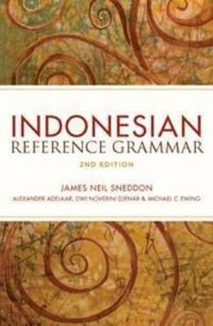 Cover of Indonesian Reference Grammar