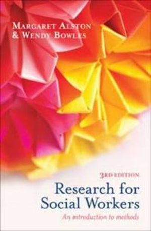 Cover of Research for Social Workers An introduction to methods