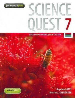 Cover of Science Quest 7 Australian Curriculum Edition & eBookPLUS
