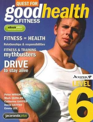 Cover of Quest for Good Health and Fitness Level Six