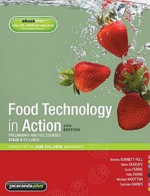 Cover of Food Technology in Action