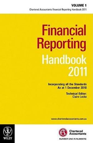 Cover of Financial Reporting Handbook 2011