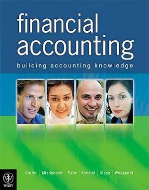 Cover of Financial Accounting Building Accounting Knowledge + Sustainabilty Supplement
