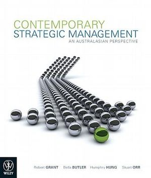 Cover of Contemporary Strategic Management