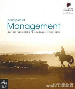 Cover of Principles of Management