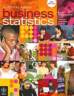 Cover of Australasian Business Statistics 2E