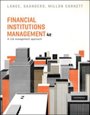 Cover of Financial Institutions Management