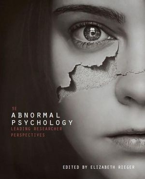 Cover of EP Abnormal Psychology 3E + CNCT OL