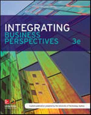 Cover of Integrating Business Perspectives