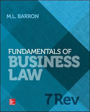 Cover of Fundamentals of Business Law Revised Edition
