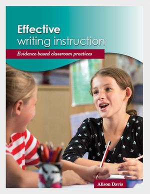 Cover of Effective Writing Instruction