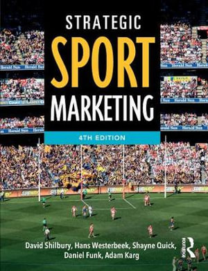 Cover of Strategic Sport Marketing