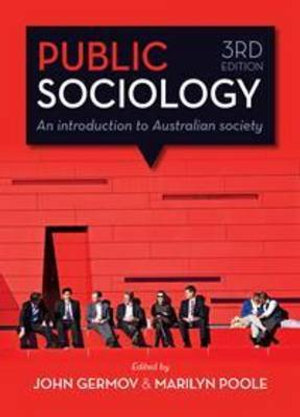 Cover of Public Sociology: An Introduction to Australian Society