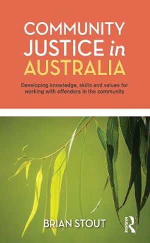Cover of Community Justice in Australia