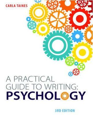Cover of A Practical Guide to Writing: Psychology, Third Edition