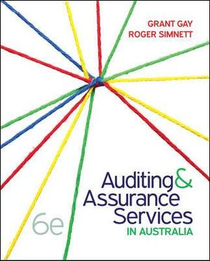 Cover of Auditing and Assurance Services in Australia + Connect
