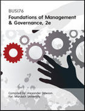 Cover of CUST Contemporary MGMT and Governance