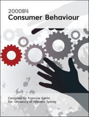 Cover of CUST Consumer Behaviour