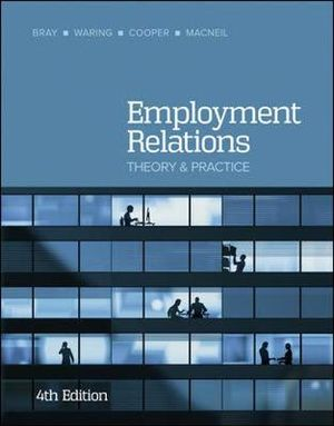 Cover of Employment Relations 4E