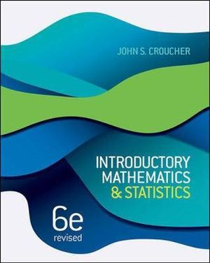 Cover of Introductory Mathematics and Statistics Revised
