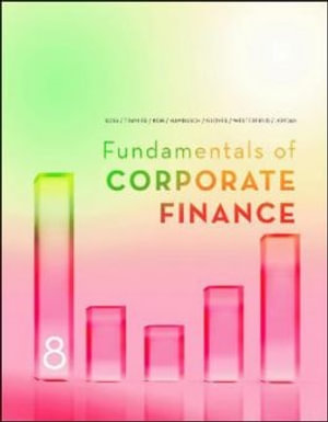 Cover of FUNDAMENTALS OF CORPORATE FINANCE.