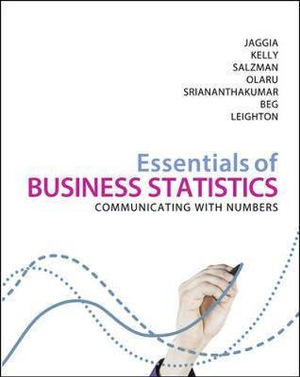 Cover of Essentials of Business Statistics ANZ
