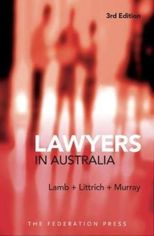 Cover of Lawyers in Australia