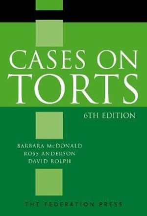 Cover of Cases on Torts, 6th Edition
