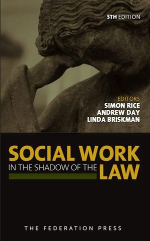 Cover of Social Work in the Shadow of the Law