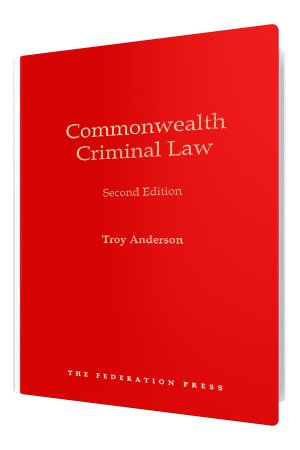 Cover of Commonwealth Criminal Law