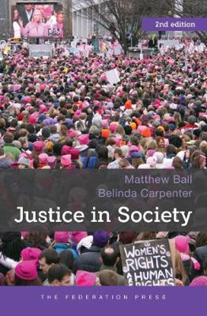 Cover of Justice in Society, 2nd Edition