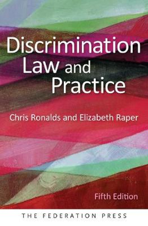 Cover of Discrimination Law and Practice, 5th Edition