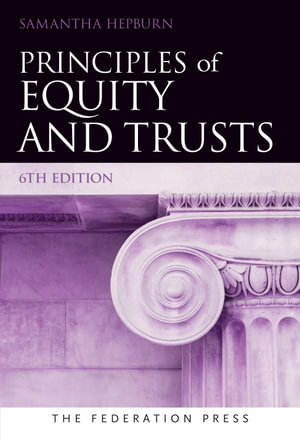 Cover of Principles of Equity and Trusts 6th Ed